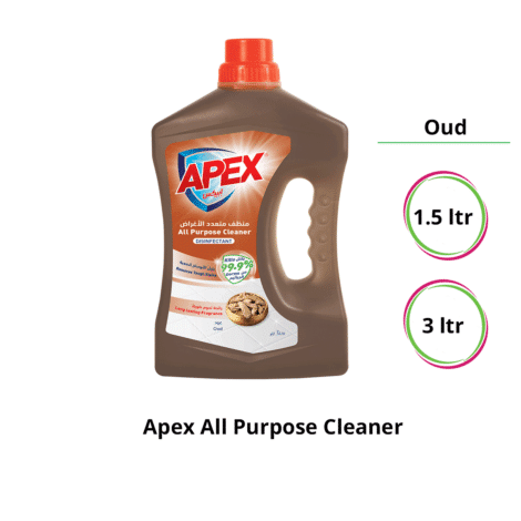 Apex-All-Purpose-Cleaner-Disinfectant-Oud-1.5-ltr,-3ltr