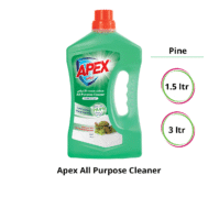 Apex All Purpose Cleaner Disinfectant Pine-1.5ltr,-3ltr