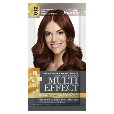 Joanna Multi Effect Hair Color Shampoo Joana Multi Effect Hair Color Shampoo Chocolate brown