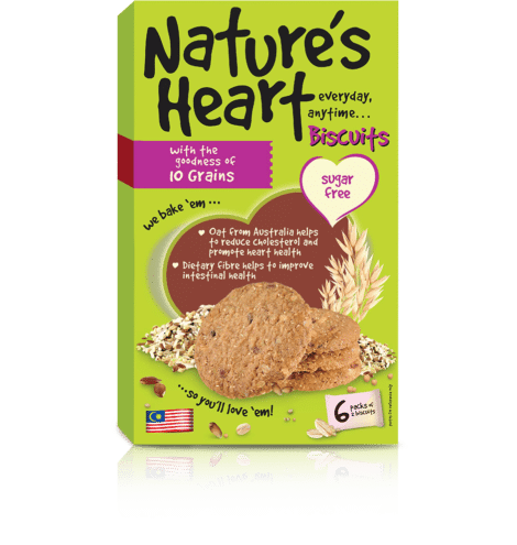 Natures Heart Oat Biscuts