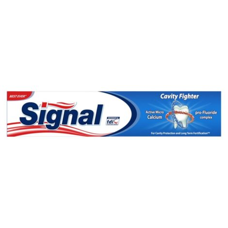 Signal Toothpaste Cavity Fighter
