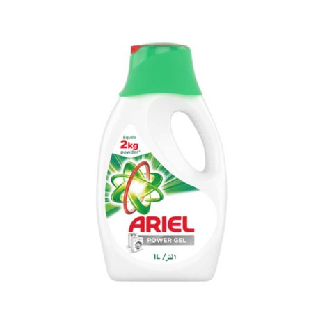 Ariel Detergent Power Gel Liquid 1Ltr