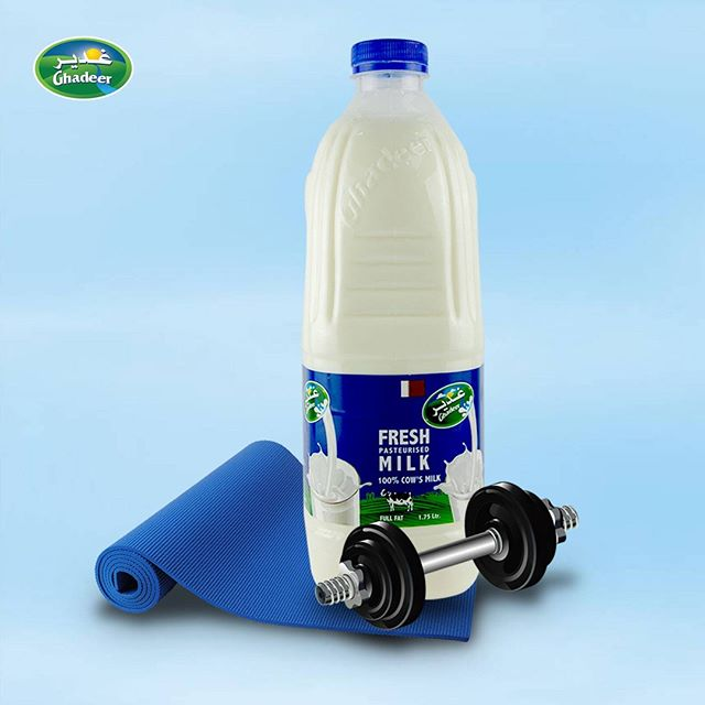 Supperkart Qatar online grocery store Ghadeer fresh milk 1.75 Ltr