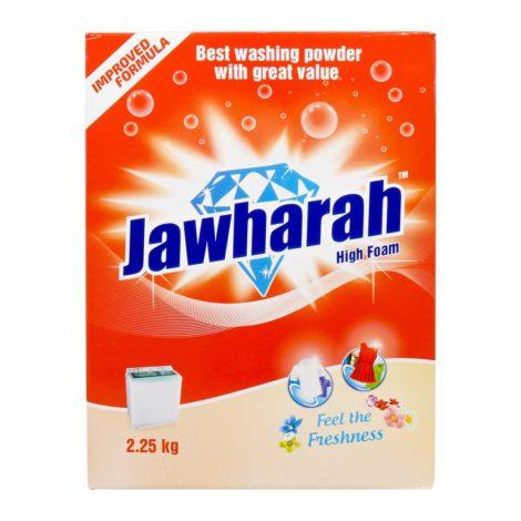 Jawharah High Foam Power Detergent Powder 2.25Kg