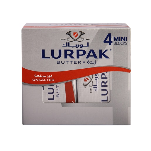 Supperkart Qatar online grocery store Lurpak Unsalted Butter 4 x 50g