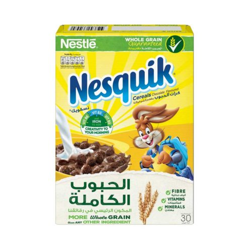 Nestle Nesquik Chocolate Breakfast Cereal 30g