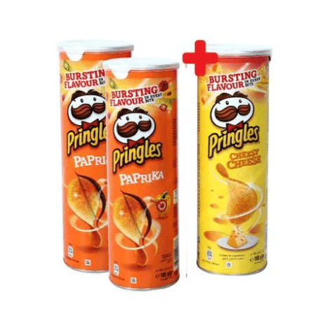Pringles Chips Assorted Pringles Chips