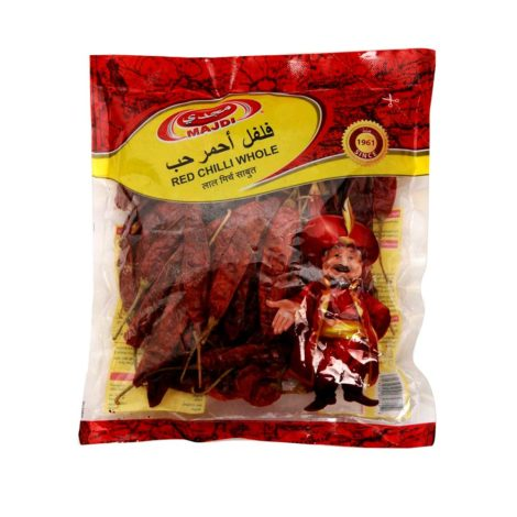 Red Chilly Whole Red Chilli Whole Majidi 90g