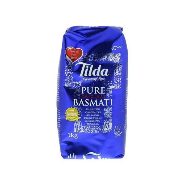 Supperkart Qatar online grocery store Tilda Basmati Rice 1Kg