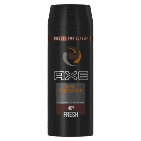 Axe Deo 48H Fresh Body Spray 150ml Axe Deo 48H Fresh Body Spray 150ml Dark tempatation