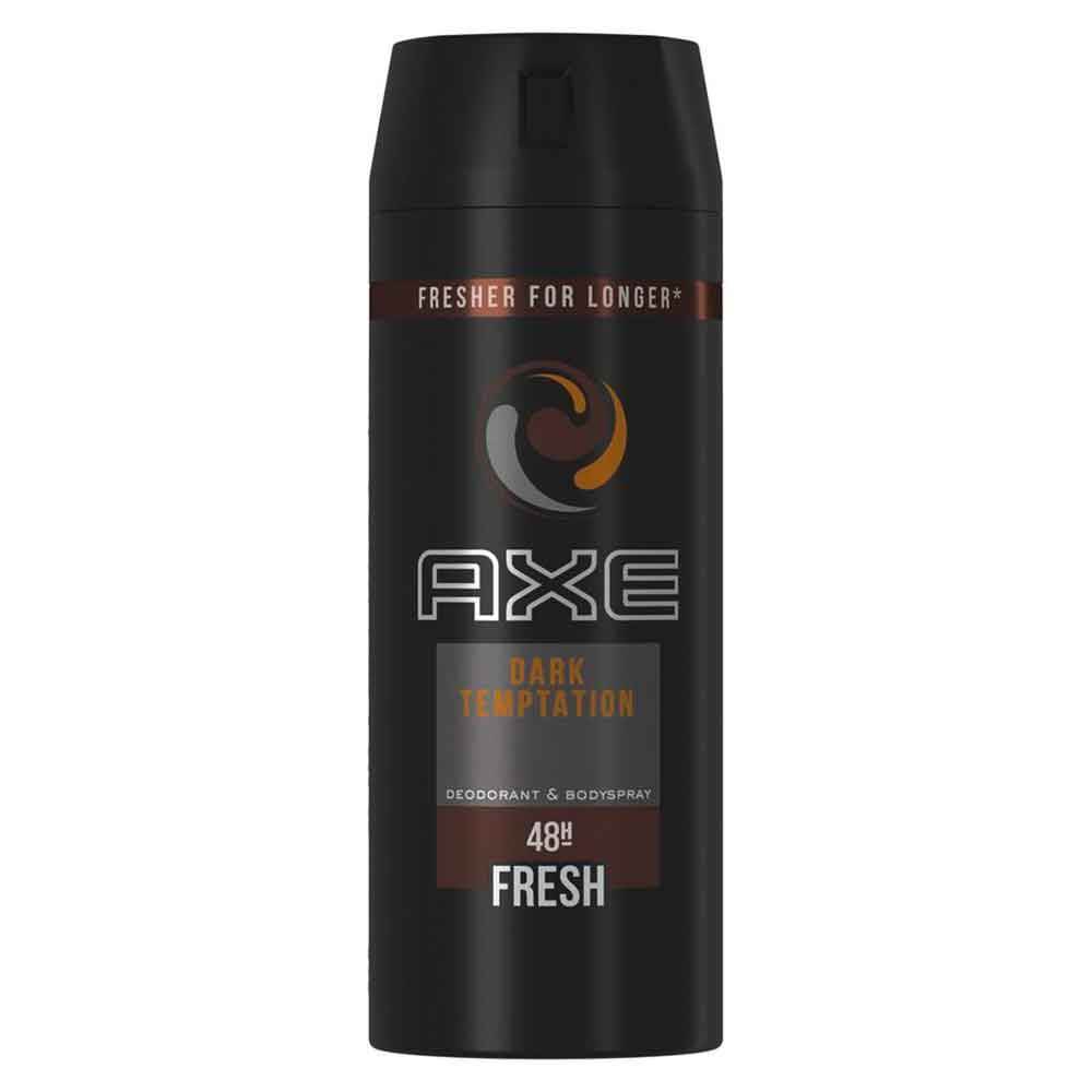 Supperkart Qatar online grocery store Axe Deo 48H Fresh Body Spray 150ml Dark tempatation