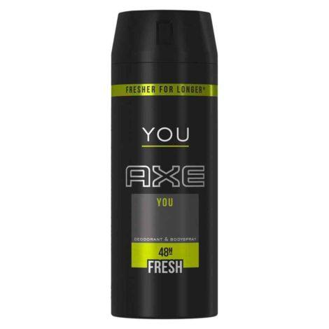 Axe Deo 48H Fresh Body Spray 150ml Axe Deo 48H Fresh Body Spray 150ml You