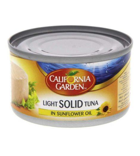 California Garden Light Meat Tuna in Oil California Garden Light Meat Tuna in Oil 1