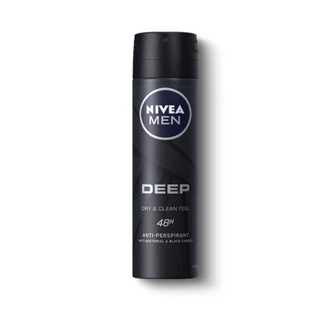 NIVEA DEEP Anti-perspirant Deodorant Spray 150ml DEEP Anti perspirant Deodorant Spray