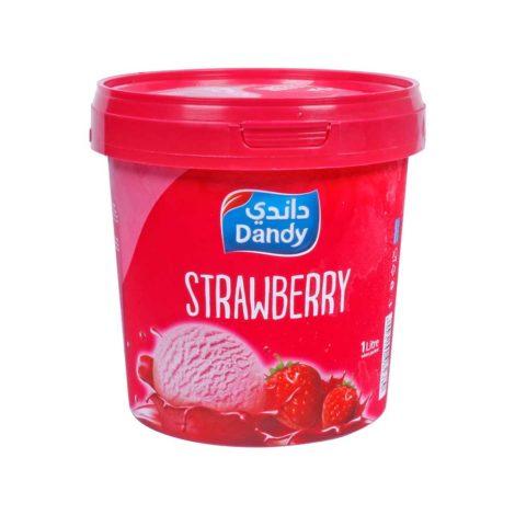 Dandy Ice Cream Dandy Strawberry Ice Cream 1Litre
