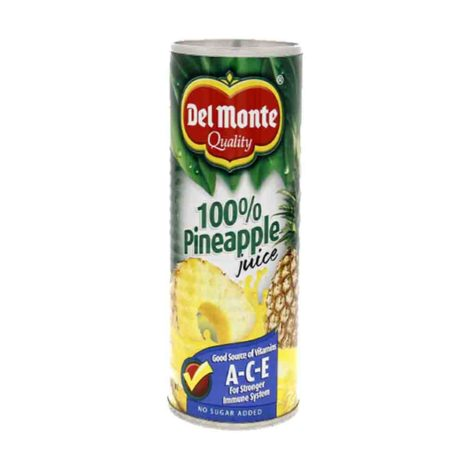 Del Monte Pineapple Juice 12