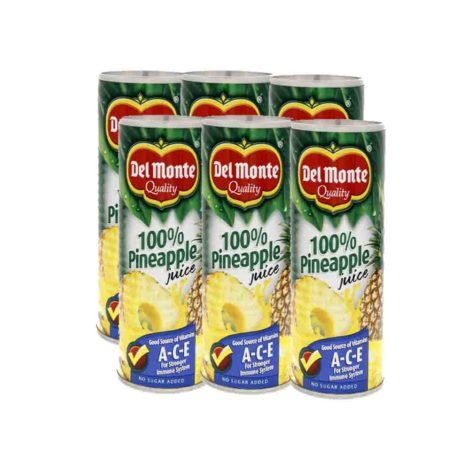 Del Monte Pineapple Juice Del Monte Pineapple Juice 122
