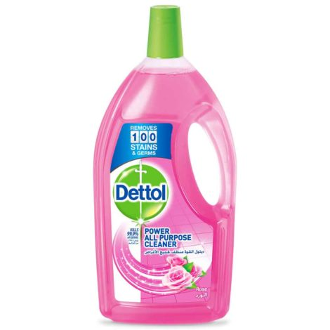 Dettol Multi Action Cleaner Dettol Power All Purpose Cleaner Rose 1.8Litre
