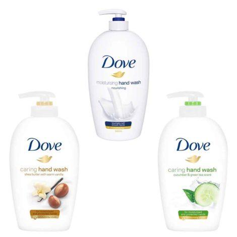 Dove hand wash