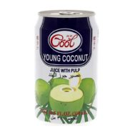 Supperkart Qatar online grocery store Ice cool Young Coconut Juice With Pulp 310ml 1