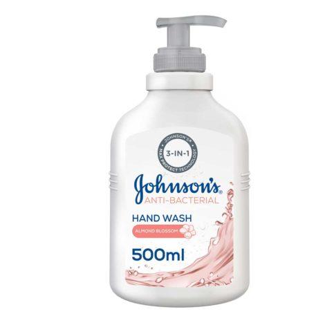 Johnson's Anti-Bacterial Hand Wash Johnsons Anti Bacterial Hand Wash 500ml 1
