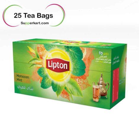 Lipton green tea bags Lipton Green Tea with Moroccan Mint 25 Teabags