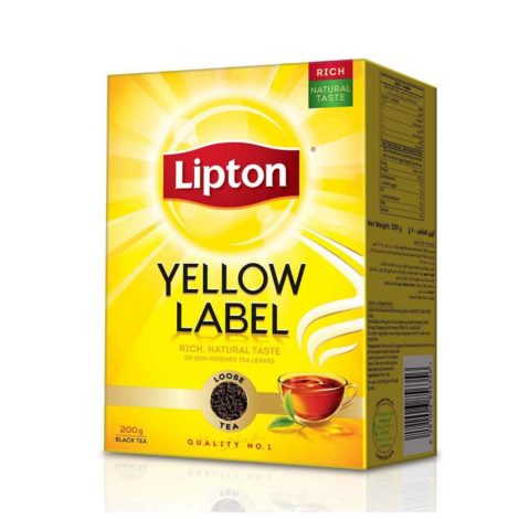 Lipton-yellow-Label-Black-tea-Loose-200g