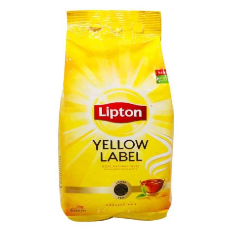 Lipton-yellow-Label-Black-tea-Loose-5Kg