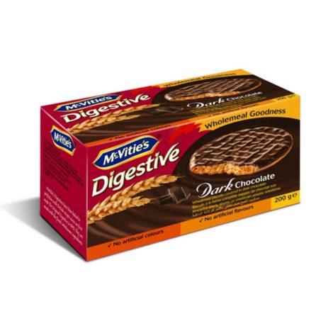 Mcvities Digestive Mcvities Digestive Dark Chocolate Biscuit 200g