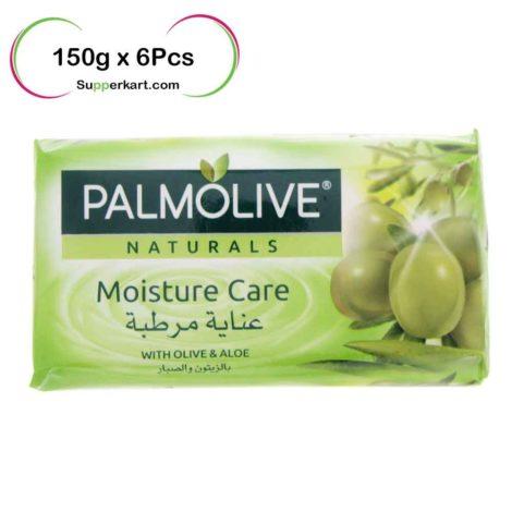 Palmolive-Natural-Soap-Aloe-&-Olive-150gx6Pcs