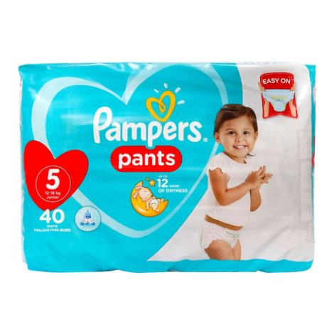 Pampers Baby Diapers Pants Pampers Diaper Pants Value Pack Size 5 12 18kg 40 Count