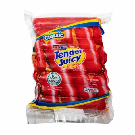 Pure Foods Tender Juicy Franks Classic