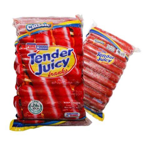 Pure Foods Tender Juicy Franks Pure Foods Tender Juicy Franks Classic th