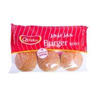 Qbake Burger Buns 420g