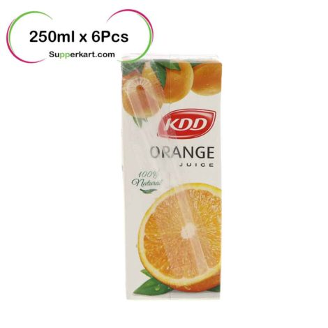 kdd juices kdd Orange juice 250mlx6Pcs 1