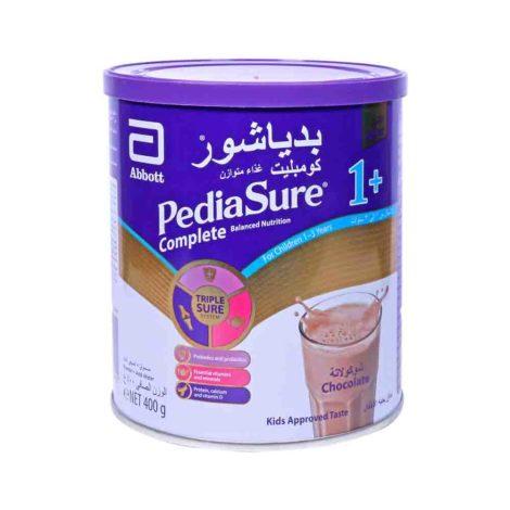 Pediasure Complete And Balanced Nutrition Milk Powder 1 1 3 chocolate 400g