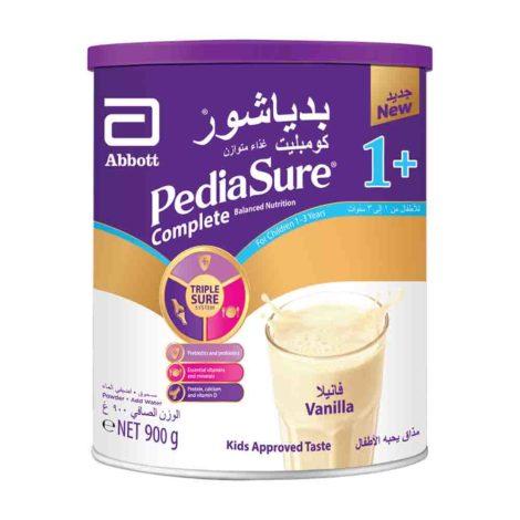 Pediasure Complete And Balanced Nutrition Milk Powder 1 vanilla 1 3 900g