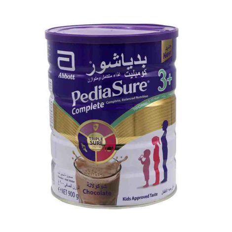 Pediasure Complete And Balanced Nutrition Milk Powder 3 choco 900g