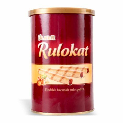 Ulker Rulokat Wafer Rolls With Hazelnut Cream 372841