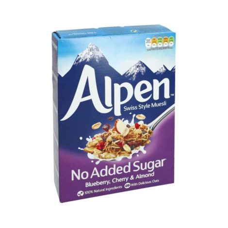 Alpen Swiss Style Muesli No added sugar