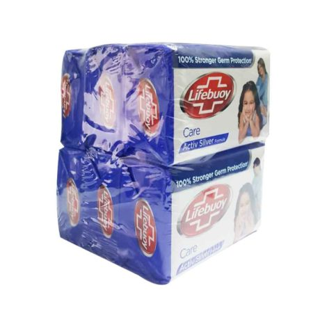 Lifebuoy-care-active-silver-formula-soap-125gx6Pcs