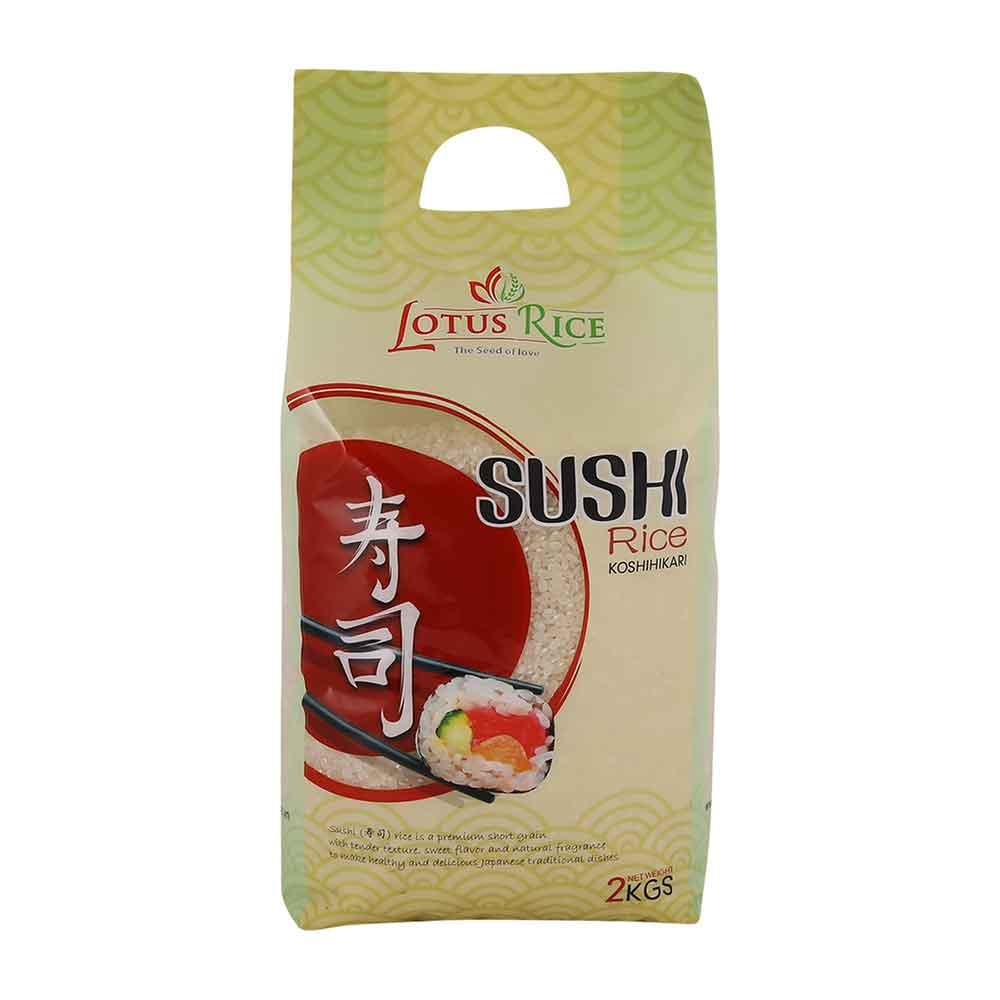 Supperkart Qatar online grocery store Lotus Sushi Rice 2Kg