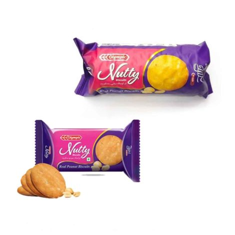 Olympic Nutty Real Peanut Biscuit