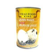 Thai food king Quail eggs in water