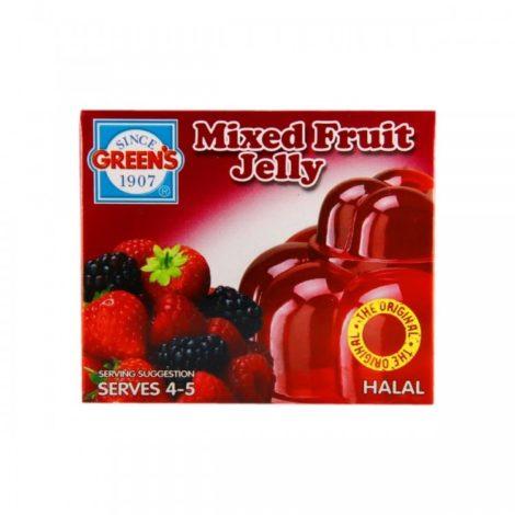 Green Mixed Fruit Jelly
