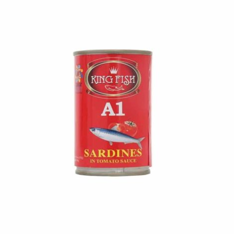 King fish A1 Sardines in hot tomato sauce