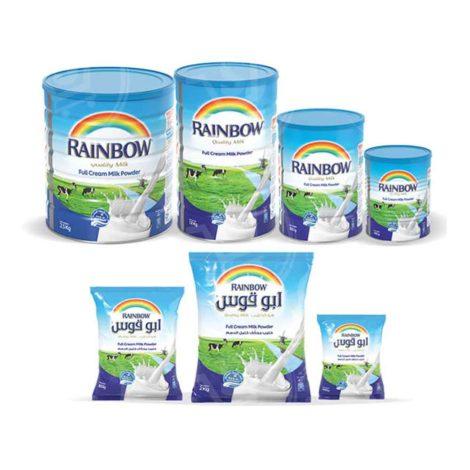 Rainbow Milk Powder Rainbow Full Cream Milk Powder