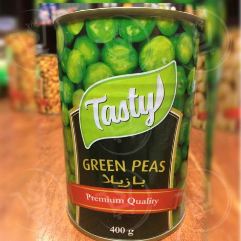 Tasty green peas 400g Tasty green peas 1