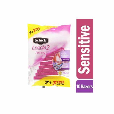 Schick Extra2 Sensitive Razors for Women schicks razor for women
