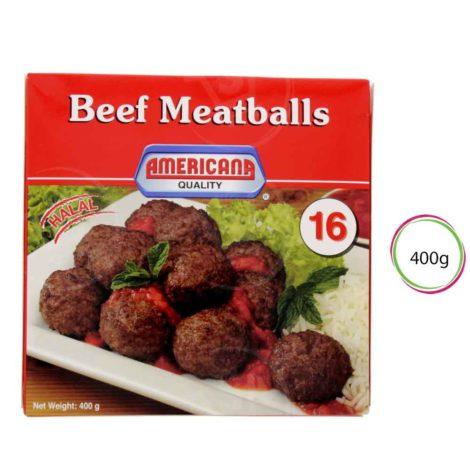 Americana Beef Meat Balls